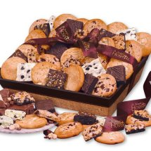 Gourmet Cookies and Brownies Personalized Ribbon wiht your company logo