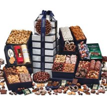 Gift baskets and Corporate Gift Towers with your logo