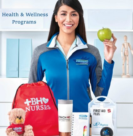 Custom corporate health and wellness programs and gifts for your employees