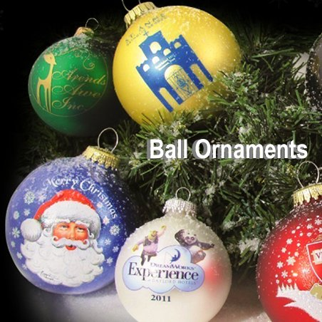 Custom Ball Christmas Tree Ornaments