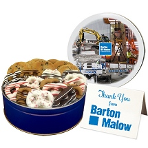 Custom Cookie and candy Assortments - Business  Food Gift Ideas for the Holiday Season!
