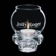 Engraved Candle holders and Tealight holders engrave with your logo - perfect holiday gift or table centerpiece