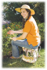 Customized gardening seat with tools - add your logo