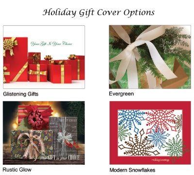 Holiday Gift Book Covers - Only available during the holiday season