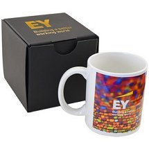Imprinted Logo Coffee Mugs and Mug gifts