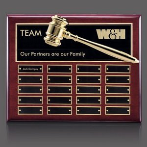 Custom Perpetual Award Plaques with engravable plates