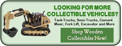 Tank Trucks, Semi Trucks, CementMixer, Fork Lift, Excavator and More  with Your logo and shipped with food gifts